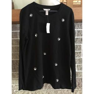Banana Republic Black Sweater. Size Large